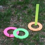 Neon Ring Toss Game by CraftsbyAmanda.com @amandaformaro