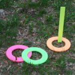 Neon Ring Toss Game by CraftsbyAmanda.com @amandaformaro