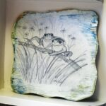 Preserving Pencil Drawings with Decoupage