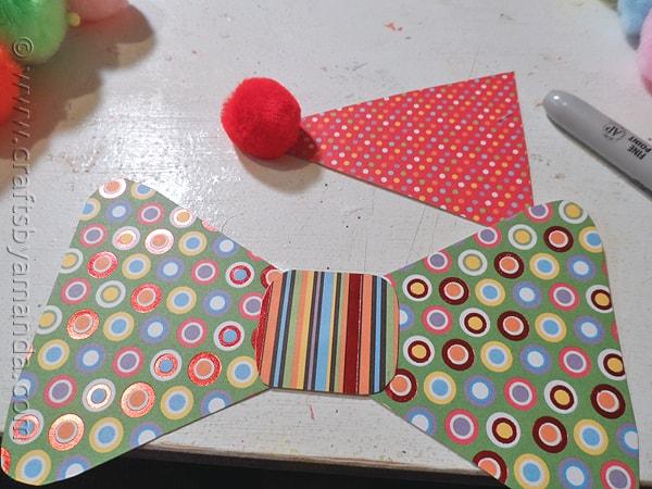 Paper Plate Clown Puppet by @amandaformaro CraftsbyAmanda.com
