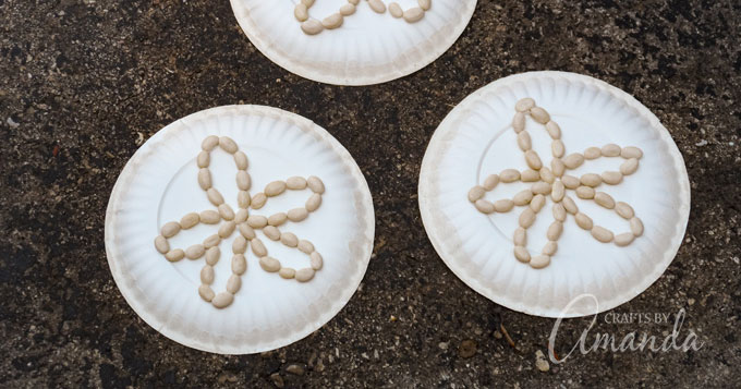 Paper Plate Sand Dollars An Easy And Fun Beach Craft For Kids