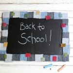 Denim Mosaic Chalkboard @amandaformaro Crafts by Amanda