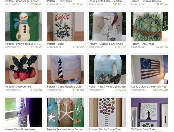 Crafts by Amanda (Amanda Formaro) on Etsy