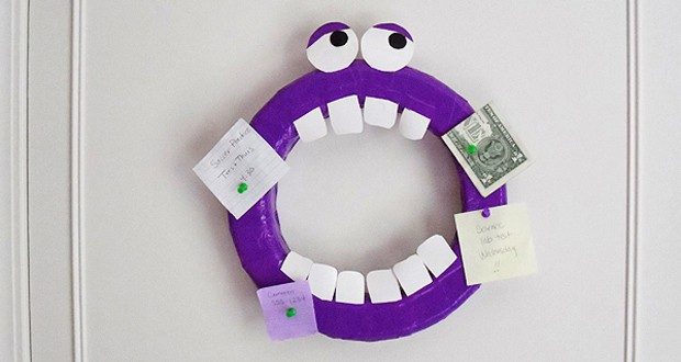Duck Tape® Monster Corkboard & $100 Walmart Gift Card Giveaway!