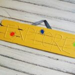 3D Explore Sign for Kids