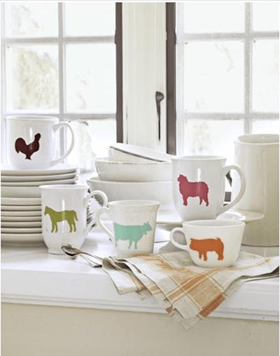 The inspiration for my Farm Animal Bowls @amandaformaro Crafts by Amanda