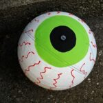Upcycled Basketball Eyeball