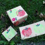 Bubble Wrap Apple Stamps @amandaformaro Crafts by Amanda