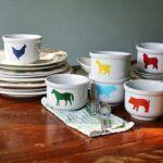 Farm Animal Bowls