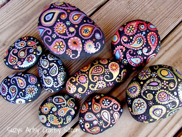 paisley-painted-stones5