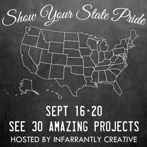 State pride Tour - this stop, Wisconsin at Crafts by Amanda!