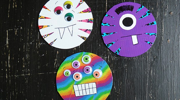 Duck Tape CD/DVD Monsters