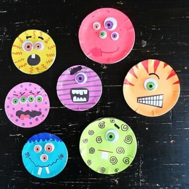 Canning Lid Monster Craft by @amandaformaro Crafts by Amanda