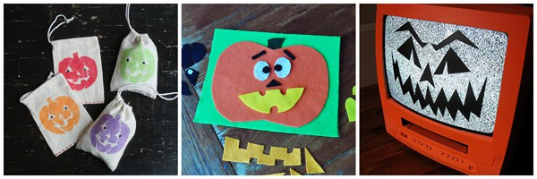Jack O'Lantern Craft ideas from @amandaformaro Crafts by Amanda