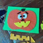 Make a Jack O'Lantern Felt Board