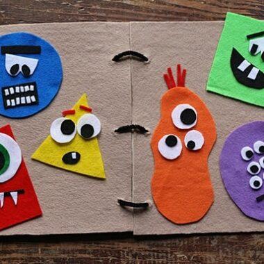 Make a Monster Felt Board by @amandaformaro Crafts by Amanda
