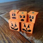 Jack O'Lantern Wooden Blocks
