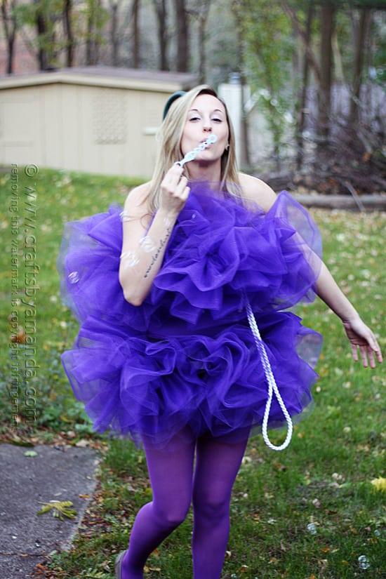 Shower Pouf Costume Crafts By Amanda