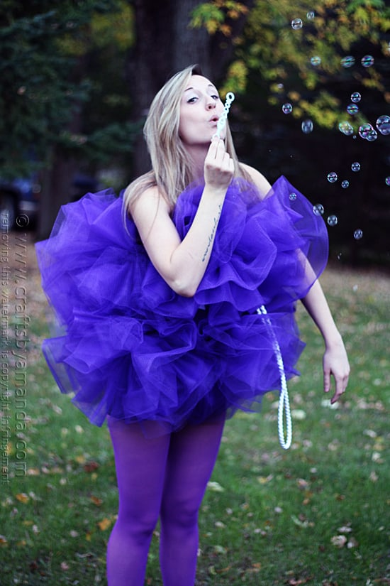 Shower Pouf Costume @amandaformaro Crafts by Amanda