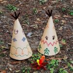 Construction Paper Teepees by @amandaformaro Crafts by Amanda