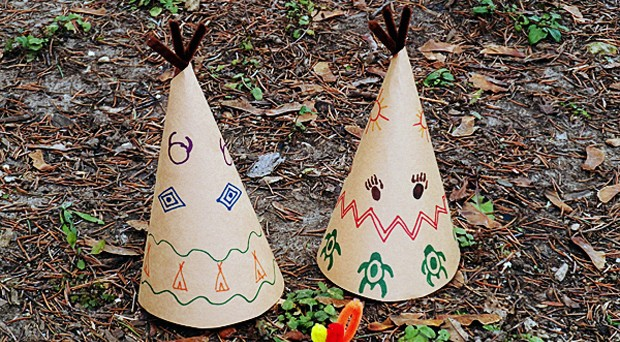 Construction Paper Teepee Project Make This Fun