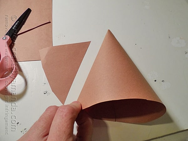 Construction paper teepee project make this fun for Teepee craft template