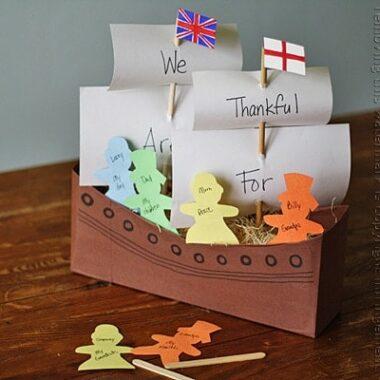 Cereal Box Mayflower by @amandaformaro Crafts by Amanda