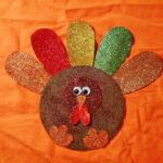 Glitter CD Turkey by @amandaformaro Crafts by Amanda