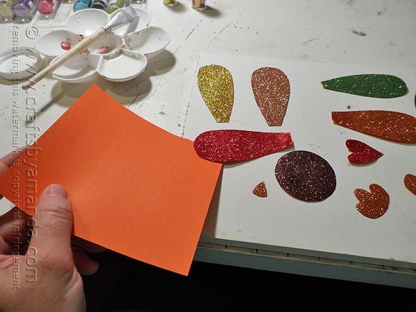 Glitter CD Turkey by @amandaformaro Crafts by Amanda