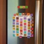 Make Hieroglyphic Alphabet Magnets