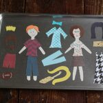 DIY Colorforms: Magnetic Dress Up Tray