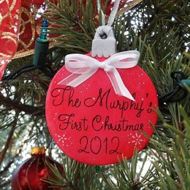 Personalized Christmas Ornament @amandaformaro Crafts by Amanda