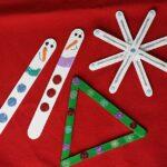 Glitter and Craft Sticks