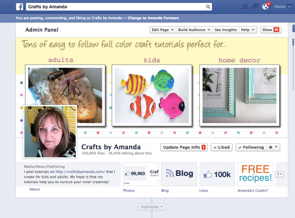Facebook Giveaways on Crafts by Amanda's Page!