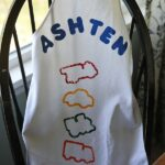Cookie Cutter Stamped Apron