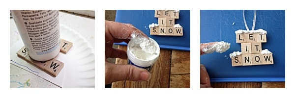 Let It Snow Ornament by Amanda Formaro of Crafts by Amanda