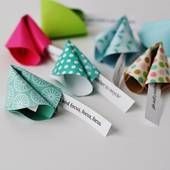 New Year's Fortune Cookie Messages @amandaformaro Crafts by Amanda