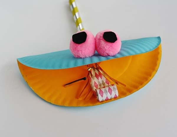 Assiette en papier Party Animal @amandaformaro Crafts by Amanda
