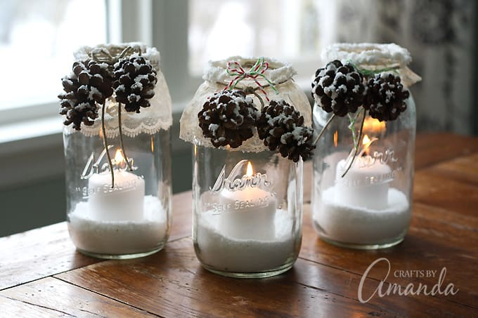 pinecone luminaries