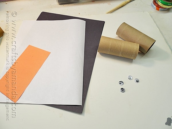 Cardboard Tube Penguins by @amandaformaro Crafts by Amanda