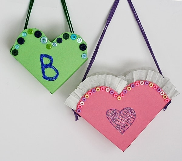 Valentine Heart Letter Boxes