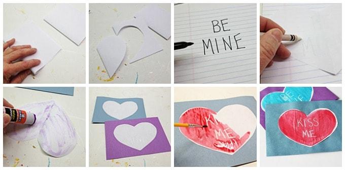 secret message valentine steps