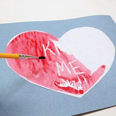 Secret Message Valentine @amandaformaro Crafts by Amanda