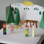 Cereal Box Winter Diorama @amandaformaro Crafts by Amanda
