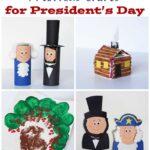 4 Fun Crafts for Presidents' Day by @amanda formaro Crafts by Amanda