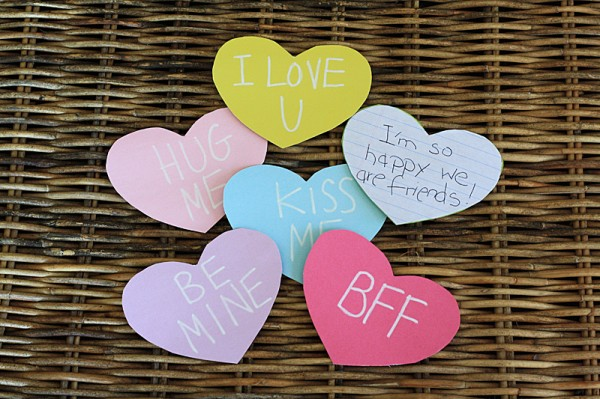 Cereal Box Conversation Hearts @amandaformaro Crafts by Amanda