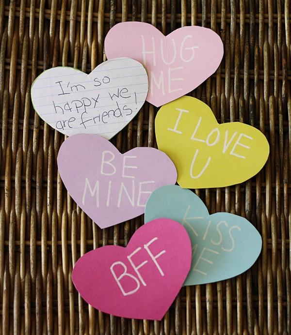 Cereal Box Conversation Hearts @amandaformaro Crafts by Amanda