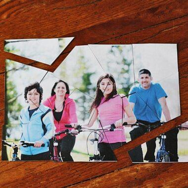 Family Photo Puzzle @amandaformaro Crafts by Amanda