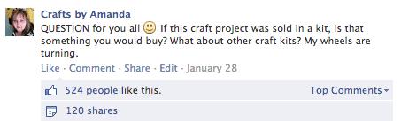 Favorite Craft Projects for February 2014 @amandaformaro