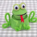 Egg Carton Frog - Crafts by Amanda @amandaformaro